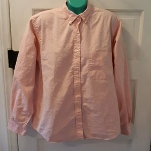 Brooks Brothers Makers all cotton pink size 14